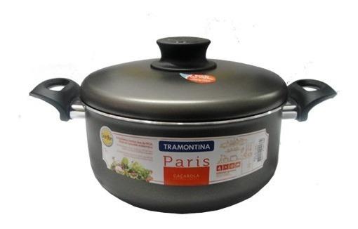 Cacerola Con Asas 5l 24cm Tramontina Antiadherente Starflon