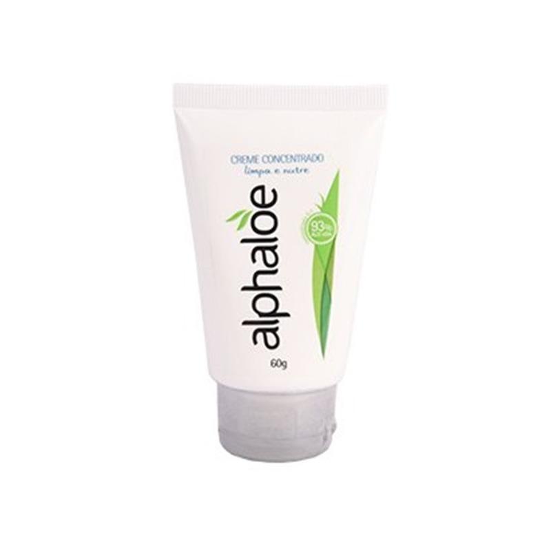 Creme Facial 93% de Aloe Vera (Conc. 5:1) 60g Alphaloe