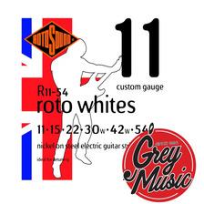 Encordado Rotosound R11 Guitarra Eléctrica 11-54 Whites