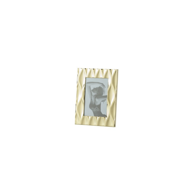 Porta Retrato Diamond Dourado 13X18Cm