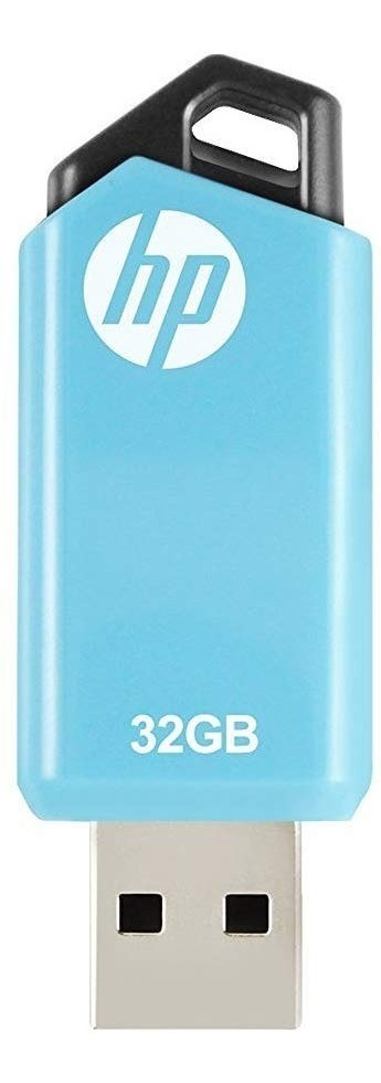 Pen Drive Hp 32gb Retractil Original Usb 2.0 Comp 3.0 V150w