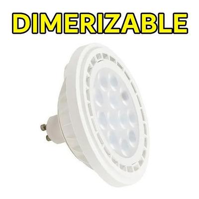 Lampara Led Ar111 12w Dimerizable Potencia Luz Desing Sf
