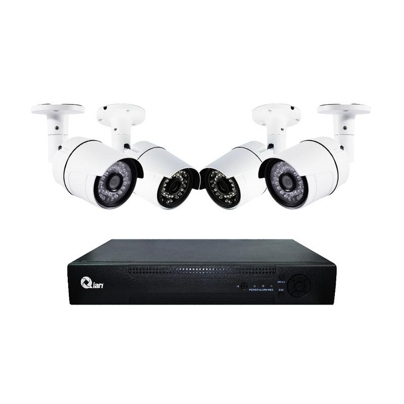 Kit de Videovigilancia de 4 cámaras QKC4D41701