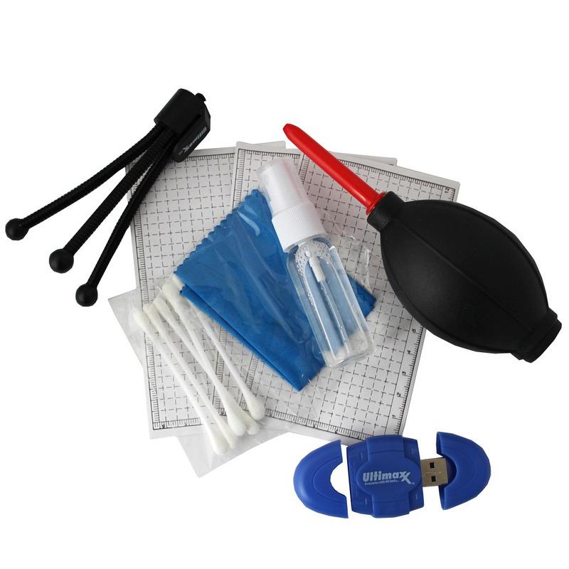 Ultimax Kit de limpeza de camera + Pendrive