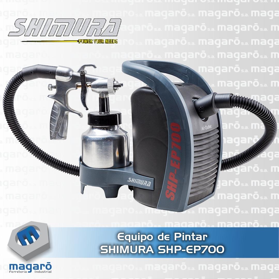 EQUIPOS DE PINTURA SHP-EP700 - Shimura