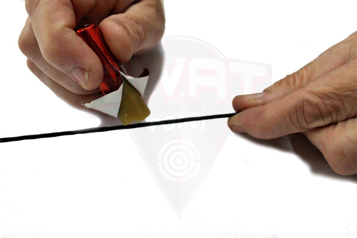 Cera Profesional Para Cuerdas Arcos Ballestas + Trozo Cuero