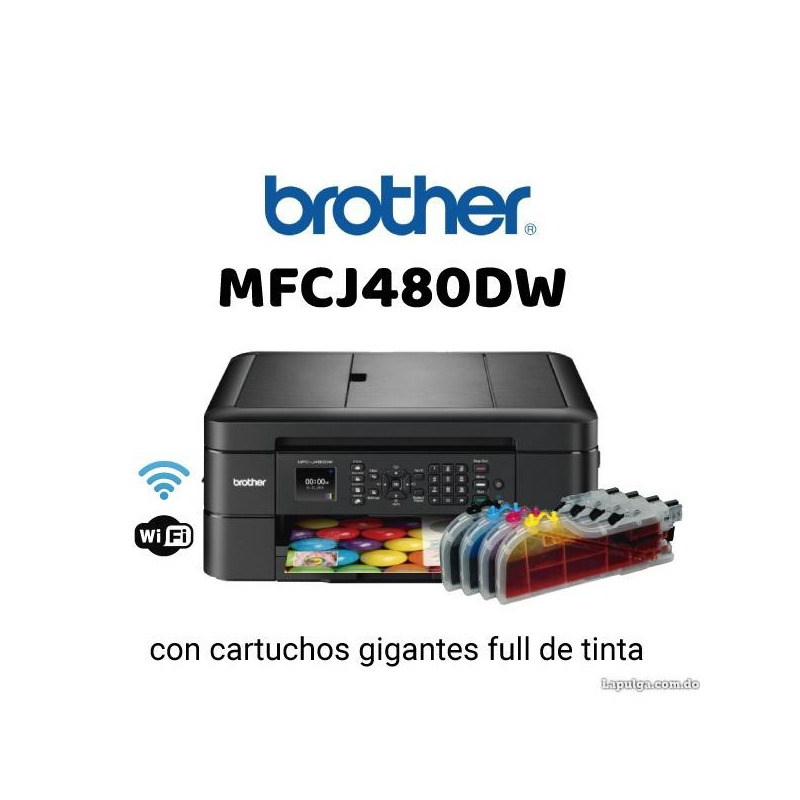Impresora Multifuncional Brother J480, 475, 460
