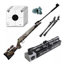 Rifle Aire Comprimido Fox Nitro Magnum Camo + Bipode Cuotas