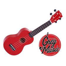 Ukelele Soprano Mahalo Mr1rd Rojo C/ Funda  - Grey Music