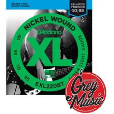 Encordado Bajo Daddario 040 Balanced Exl220bt - Grey Music -