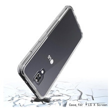 Funda Tpu Rigida Lg K10 2017 Anti Shock Golpe Bumper + Glass