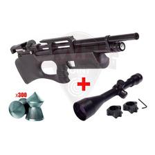 Rifle Pcp Kral Breaker S Bullpup Regulable Caza + Mira 4x40