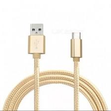Cable Usb Tipo C Mallado 1.3 Mts Metros Resistente
