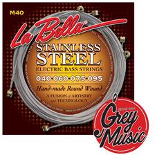 Encordado Para Bajo La Bella M40 Cuerdas - Grey Music -