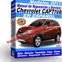 Manual de Reparacion Taller Chevrolet Captiva 2011