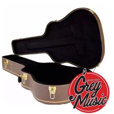 Estuche Rígido Field Guitarra Clásica Con Forma Hge115 Brown