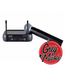 Micròfono Inalàmbrico De Mano Moon Mi01vm Vhf - Grey Music