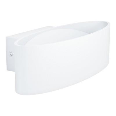 Aplique Pared Maccacari Led Blanco Aluminio  Eglo