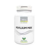 Psyllium Max - 60 capsulas 480mg - Vital Natus