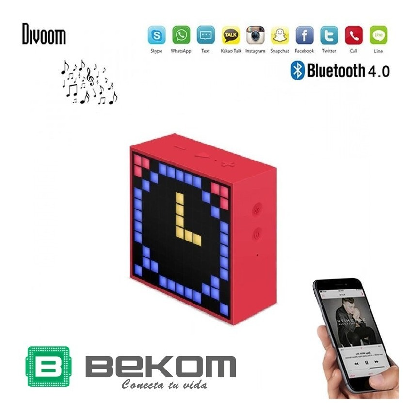 Parlante Bluetooth Portatil Divoom Android Super Oferta Full
