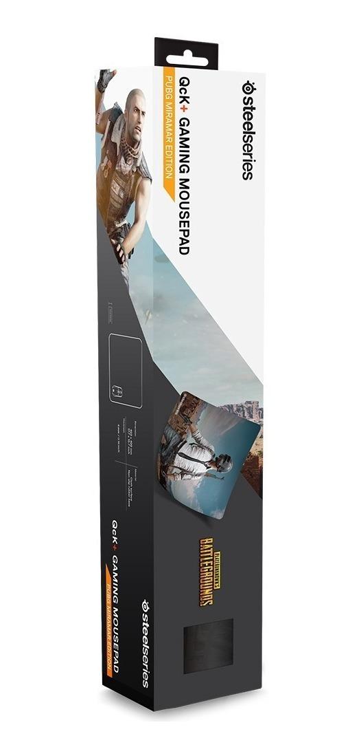 Mousepad Gamer Steelseries Qck+ Large L Pubg Miramar Edition