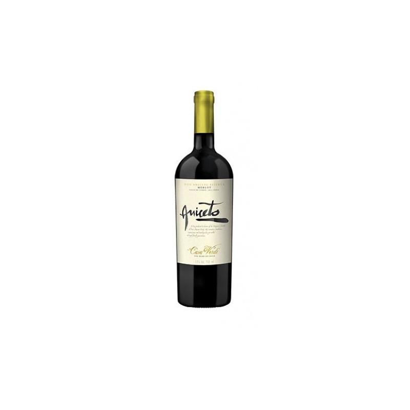 Vinho Fino Merlot Reserve Aniceto 750ml - Casa Verdi Chile