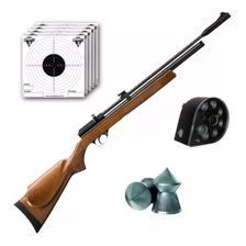 Rifle Aire Comprimido Fox Pcp + Cargador 7 Tiros Repeticion