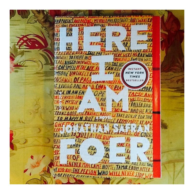 Jonathan Safran Foer.  HERE I AM.