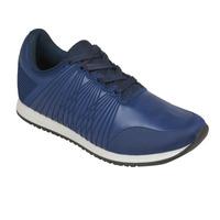 Sneakers azules textura 018717
