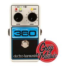 Pedal Electro Harmonix (nano Looper 360) Looper - Grey Music