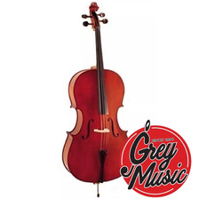 Cello Stradella 3/4 Con Funda Y Arco Mc601134