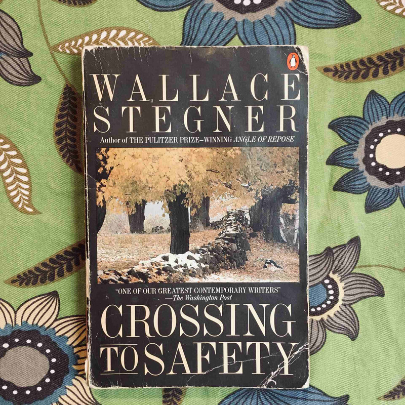 Wallace Stegner. CROSSING TO SAFETY.