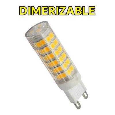 Lampara Led 6w Dimerizable G9 Alta Potencia Luz Desing