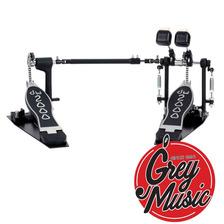 Pedal De Bombo Doble Serie 2000 Dw - Cp2002 Grey Music