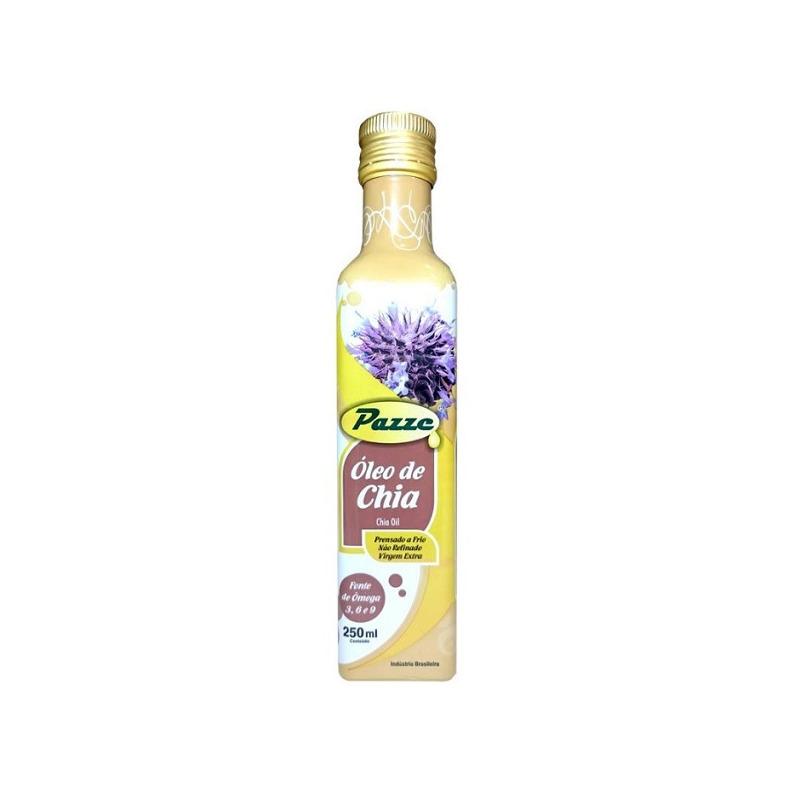 Oleo de Chia Extra Virgem 250ml - Pazze