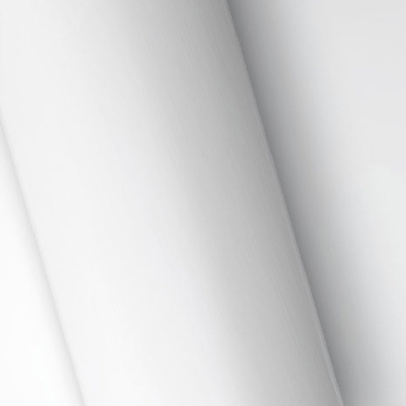 Adesivo para envelopamento automotivo jateado branco larg. 1,38 m