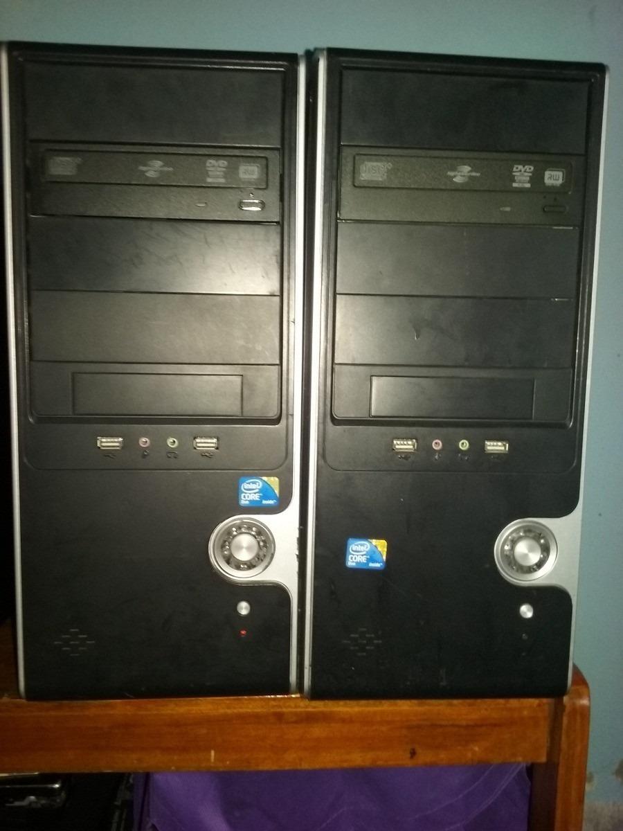 Pc Cpu Dual Core Doble Nucleo Mother Gab Fte Centro Garantia