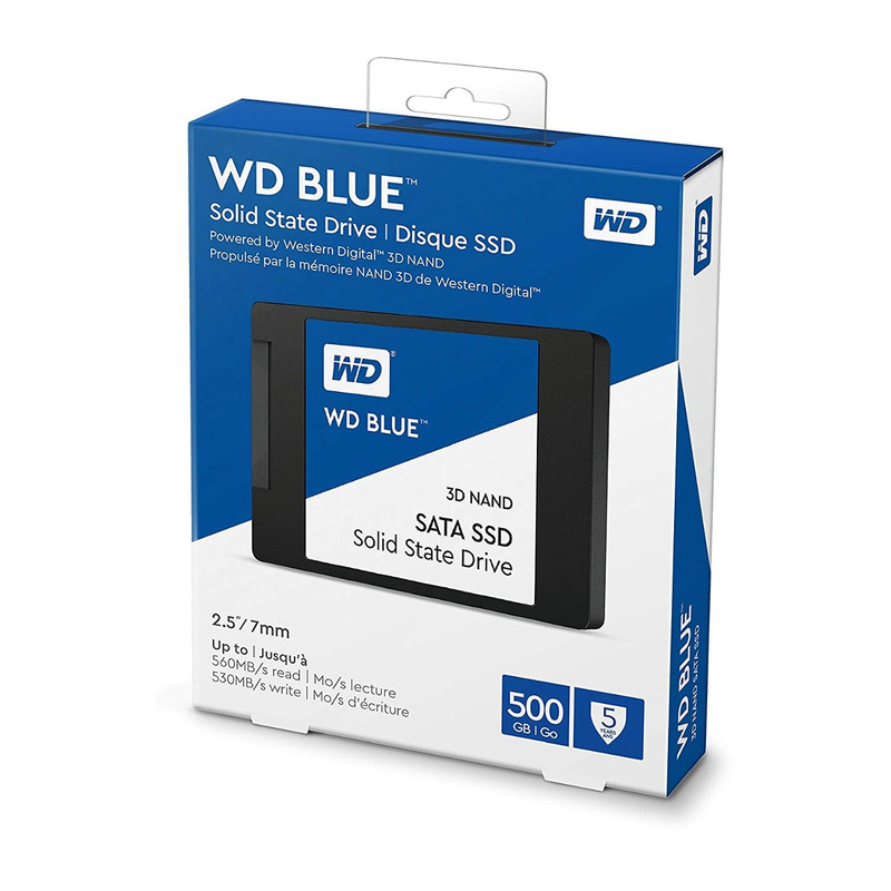 Unidad de Estado Sólido 500Gb Western Digital Blue