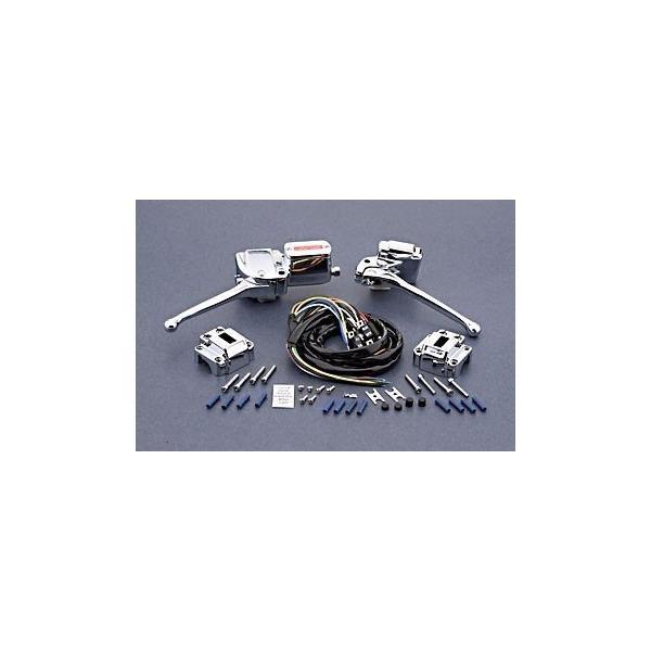 Kit Manetes E Comandos Guidao Harley Shovel 72-81 Crom 44705