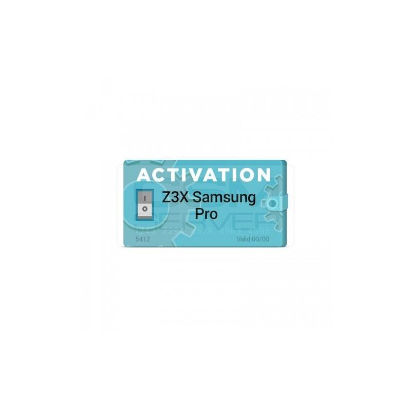 Activacion Samsung PRO para z3x