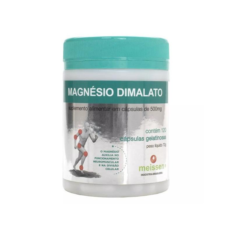 Magnesio Dimalato 500mg - 120 Caps - Meissen