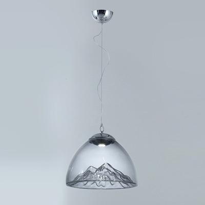 Lampara Colgante Cristal Led Peak-co-m Calidad Premium Gmg