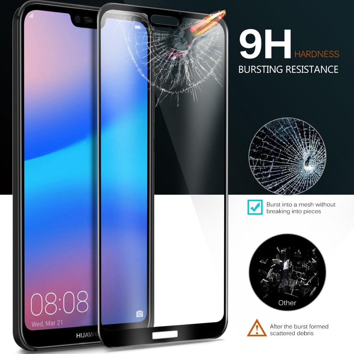 Glass Vidrio Templado Huawei P20 Lite P20 Pro P20 3d Curvo