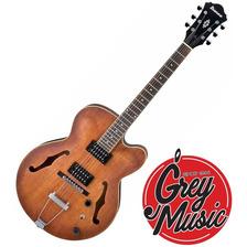 Guitarra Ibanez Af55tf Serie Afcpo Hueco 20 Trastes Rosewood