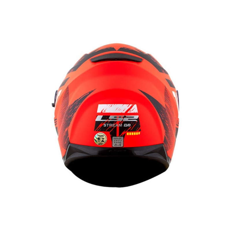 Capacete LS2 FF320 Stream Hunter Laranja