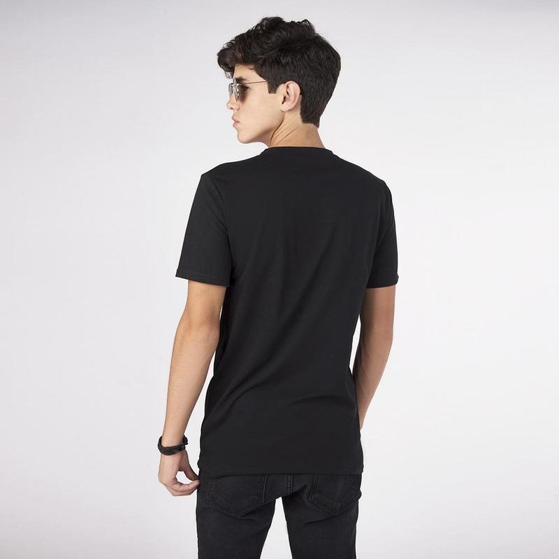Camisa Negra Con Lentejuelas 019478