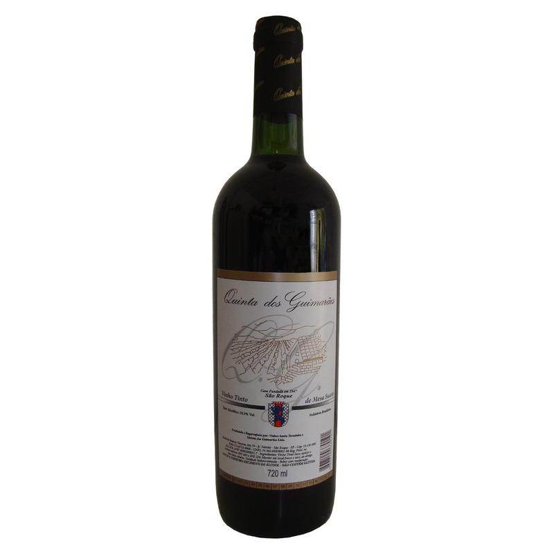 Vinho Tinto Suave Izabel/Bordô 720ml - Quinta dos Guimarães