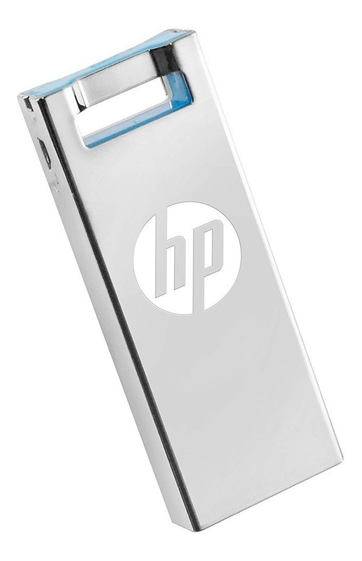 Pendrive 64gb Hp V295w Usb 2.0 Metalico Pen Drive Oficial