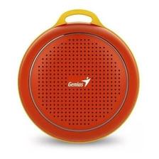 Parlante Portatil Genius Sp-906bt Bluetooth Rojo