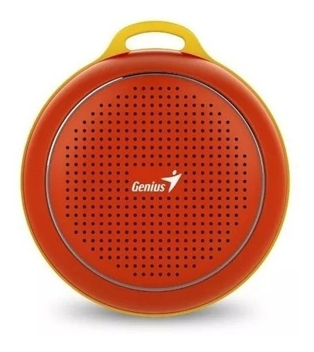 Parlante Portatil Genius Sp-906bt Bluetooth Rojo